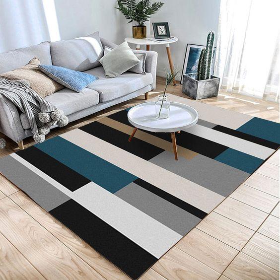 thảm cho phòng khách nhà ống 4m