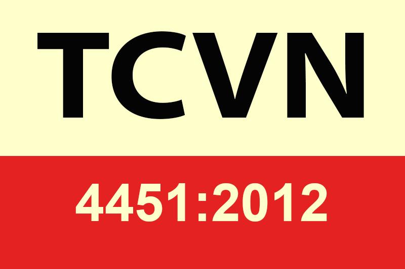 thiết kế nhà ở theo TCVN 4451