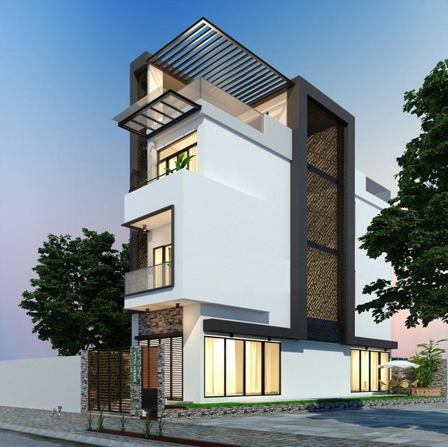 nhà 3 tầng 1 tum