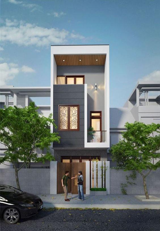 xu hướng thiết kế nhà 3 tầng năm 2021